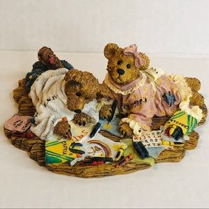 Boyd's Bear Crayola Crayon Sam & Jenny Rare 2007
